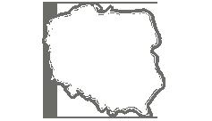 mapa Polsko